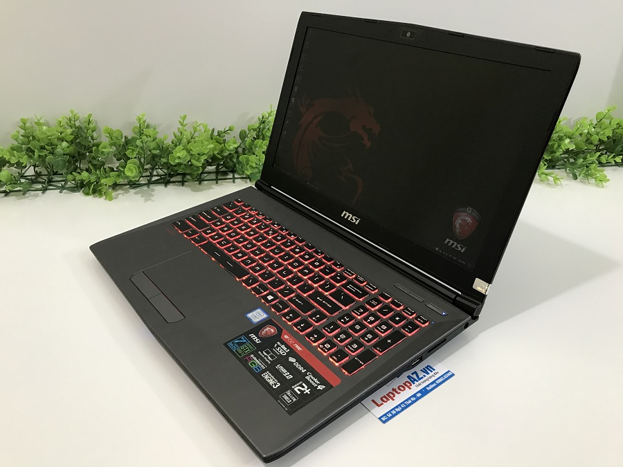Laptop MSI GF62 7RE-1818XVN (Core i7-7700HQ, RAM 8GB, HDD 1TB, VGA 4GB NVIDIA GTX 1050Ti, 15.6 inch Full HD)