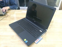 Laptop Dell Inspiron N3558 (Core i3-4005U, RAM 4GB, HDD 500GB, VGA 2GB NVIDIA GeForce 820M, 15.6 inch)