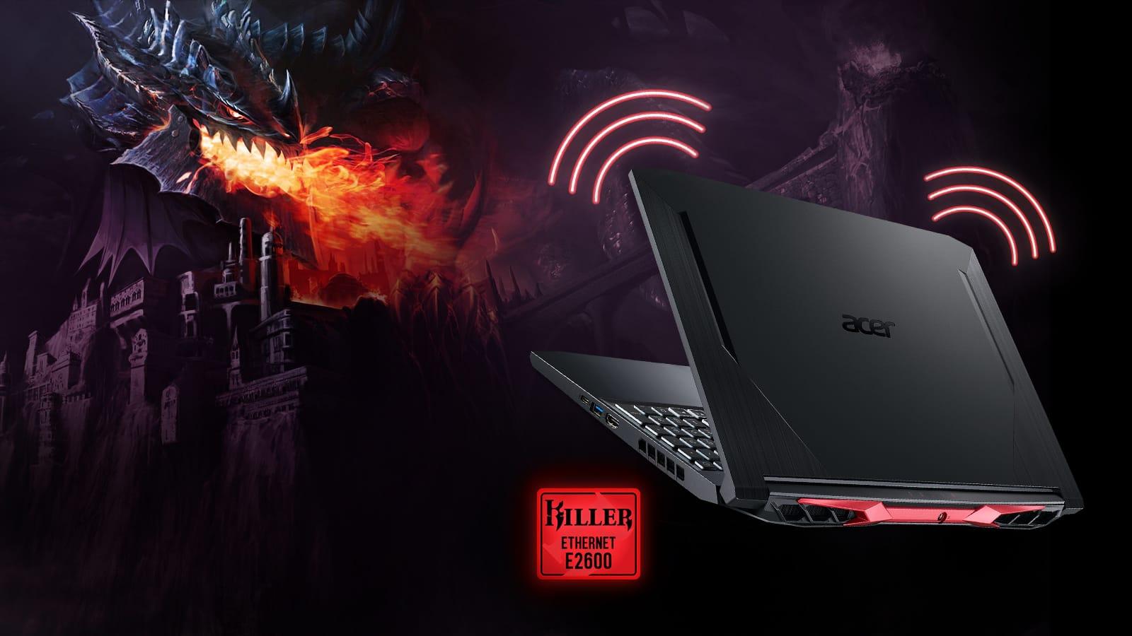 ACER NITRO 5 i5-10300H, 8GB, 512GB,  GTX 1650 4GB