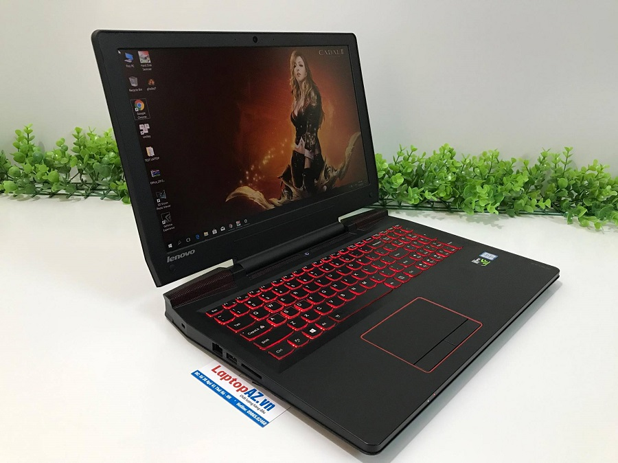 Laptop Lenovo Gaming RESCUER 15 (Core i7-6700HQ, RAM 8GB, HDD 1TB, VGA 2GB NVIDIA GTX 960M, 15.6 inch full HD)