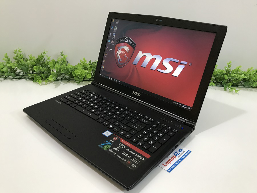 Laptop MSI GL62 7RD - 675XVN (Core i7-7700HQ, RAM 8GB, HDD 1TB, VGA 2GB  NVIDIA GeForce GTX 1050, 15.6 inch Full HD)