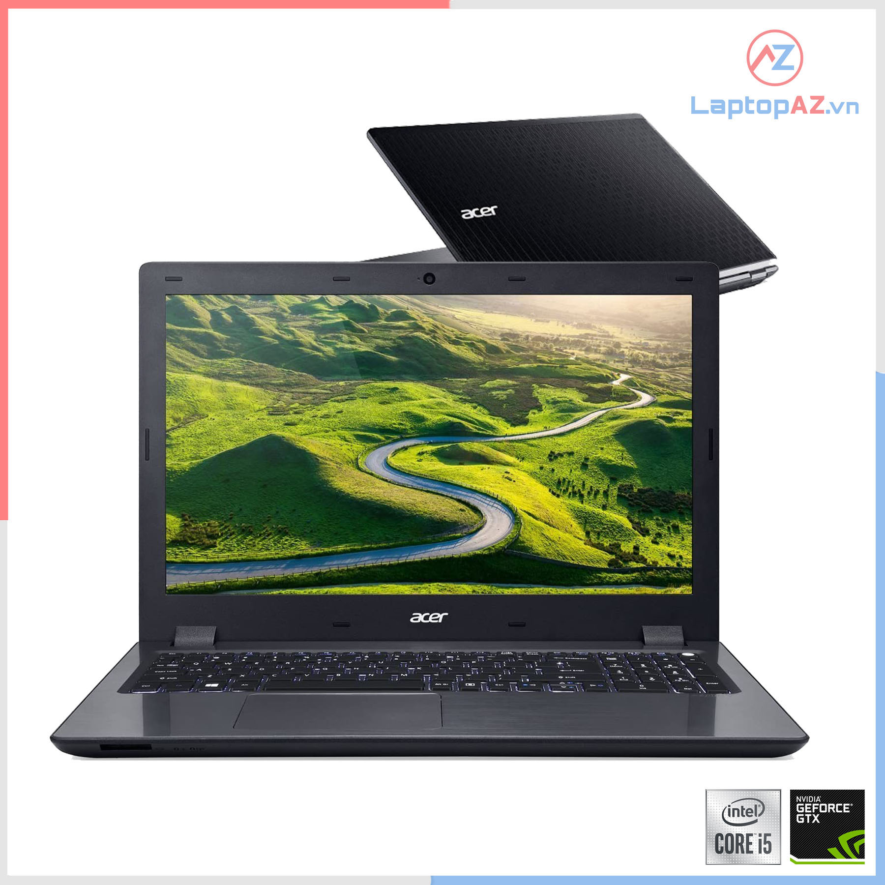 Laptop Acer V5-591G (Core i5-6300HQ, 4GB, 1T, VGA 2GB NVIDIA GeForce GTX 950M , 15.6 inch, HD)