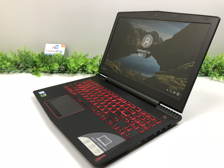 Laptop Lenovo Y520-15IKBN (Core i7-7700HQ, RAM 8GB, HDD 1TB + SSD 128GB M2, VGA 4GB NVIDIA GTX 1050, 15.6 inch, Full HD IPS)