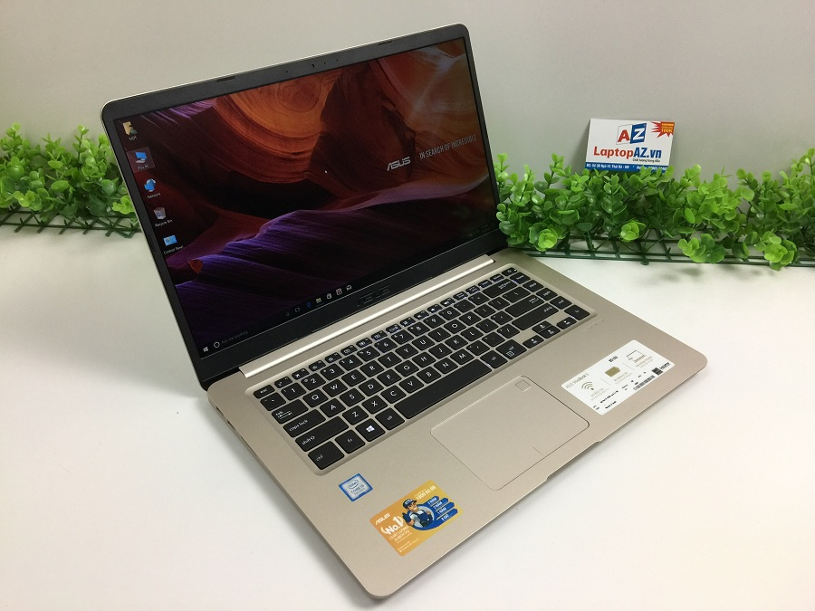Laptop Asus S510UA-BQ414T (Core i5- 8250U, RAM 4GB, HDD 1TB, VGA Intel UHD Graphics 620, 15.6 inch FHD IPS)