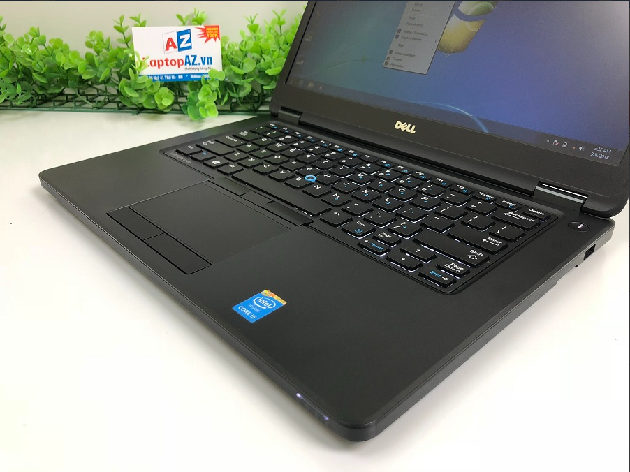 Laptop cũ Dell Latitude E5450 (Core i5-5300U, RAM 4GB, SSD 128GB, VGA Intel HD Graphics 5500, 14 inch)