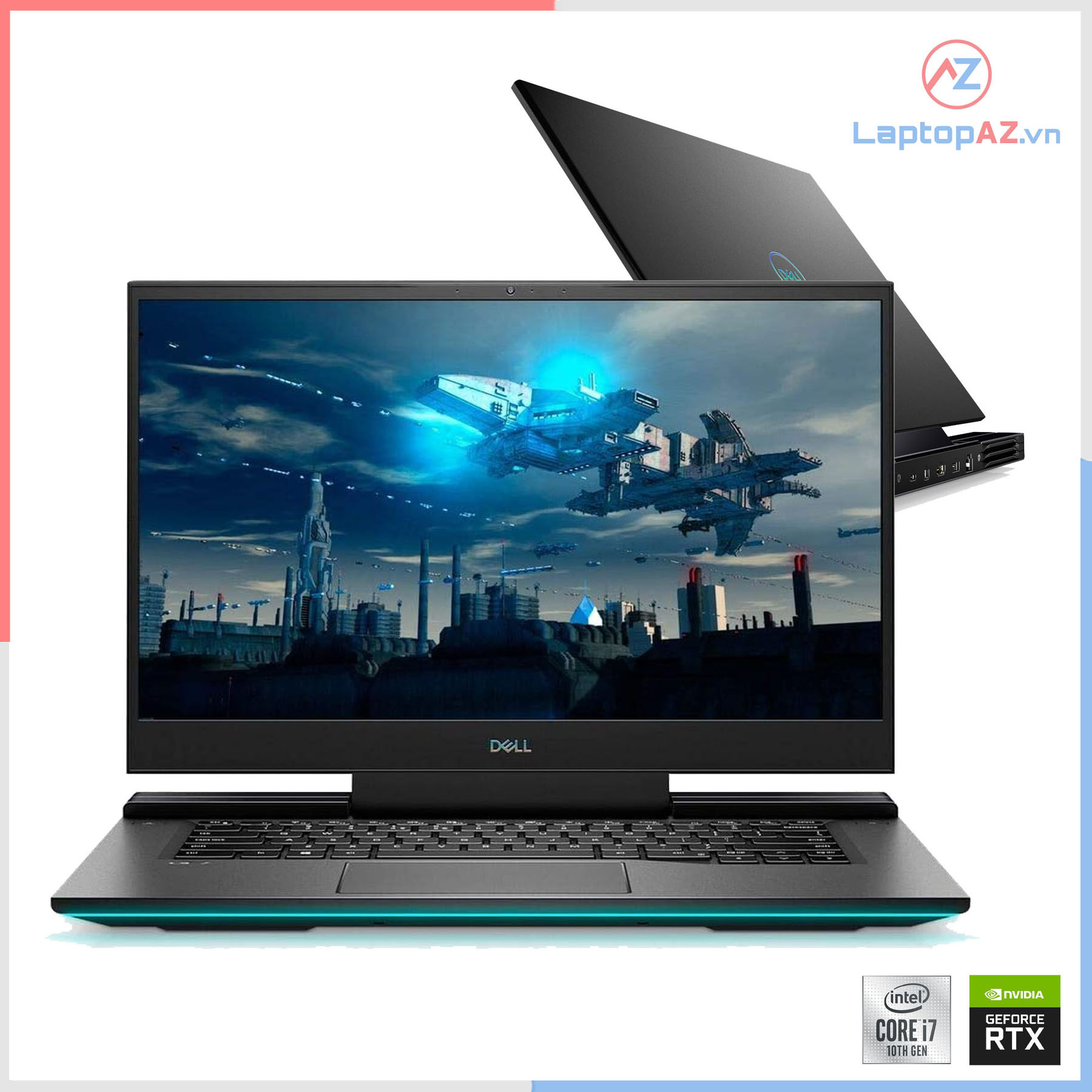 [Mới 99%] Dell Gaming G7 7700 (Core i7-10750H, 16GB, 512GB, RTX 2070, 17.3 FHD 300Hz)