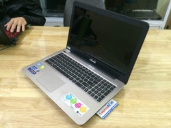 Laptop cũ Asus A556UF-XX062T (Core i5-6200U, RAM 4GB, HDD 500GB, VGA 2GB NVIDIA GeForce GT 930MX, 15.6 inch HD)