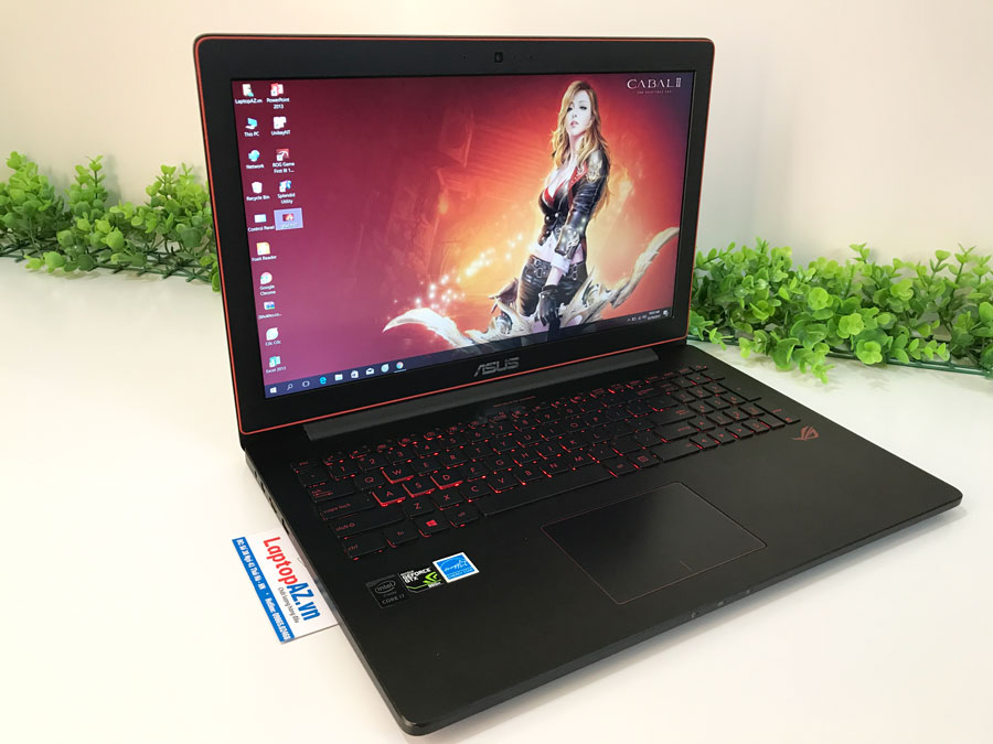 Laptop  Asus G501JW (Core i7-4720HQ, 8GB, 1TB, VGA 2GB, NVIDIA GTX 960M, 15.6 inch Full HD 1920x1080 + IPS)